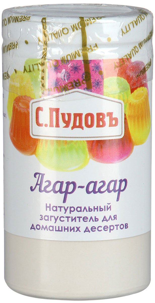 Пудовъ агар-агар, 40 г цена