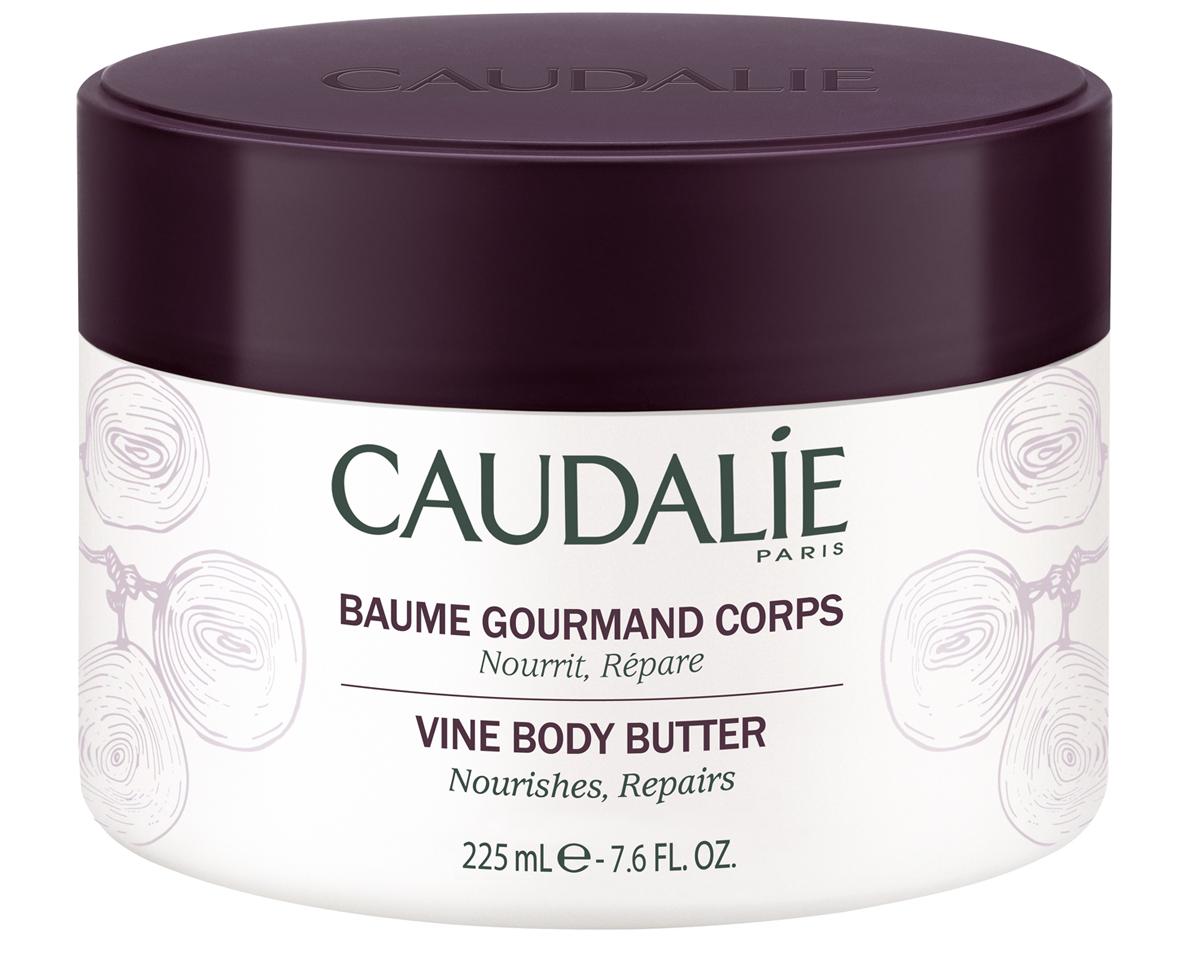Caudalie Изысканный бальзам для тела Body Vinotherapie, 225 мл172Бальзам с нежной текстурой и изысканным ароматом, насыщенный маслами винограда и карите, моментально снимает ощущения стягивания сухой кожи. Благодаря интенсивному питанию, кожа вновь обретает эластичность и комфорт. Идеально восстанавливает кожу после солнечных ванн. 95% ингредиентов натурального происхождения. Баночка из эко-пластика.