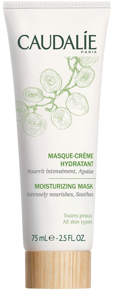 Caudalie Увлажняющая маска-крем для всех типов кожи лица 75мл178Увлажняющая маска-крем поможет сухой коже пережить суровые холода без страха обезвоживания. Эта нежнейшая маска, натуральная на 85,5%, понравится даже самой капризной коже. Через несколько минут использования, кожа становится упругой, нежной и увлажнённой. Исчезает ощущение стянутости. Спасение для обезвоженной кожи!