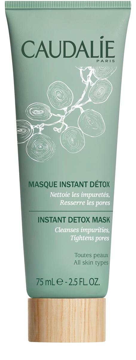 Caudalie Мгновенная детокс - маска Cleanser & Toners, 75 мл180Мгновенная детокс-маска возвращает к жизни кожу городских жительниц, подверженных ежедневному стрессу. Используйте маску с текстурой крем-геля 2 раза в неделю, оставьте на несколько минут, чтобы формула средства, натуральная на 99%, смогла устранить накопившиеся токсины и загрязнения. Результат: поры сужены, текстура кожи выровнена, лицо выглядит отдохнувшим.