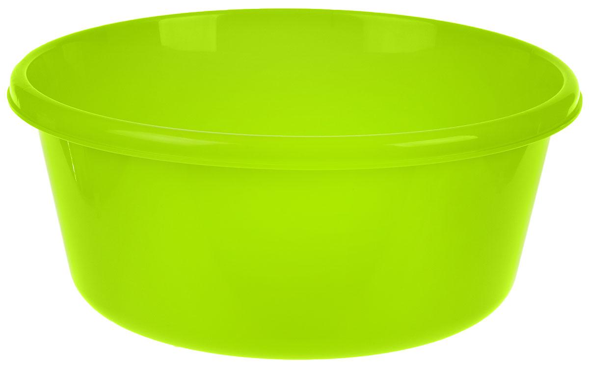 Таз Idea, круглый, цвет: салатовый, 8 лМ 2512Таз Idea выполнен из прочного пластика. Он предназначен для стирки и хранения разных вещей. Также в нем можно мыть фрукты. Такой таз пригодится в любом хозяйстве.Диаметр таза (по верхнему краю): 30 см. Высота стенки: 14 см.