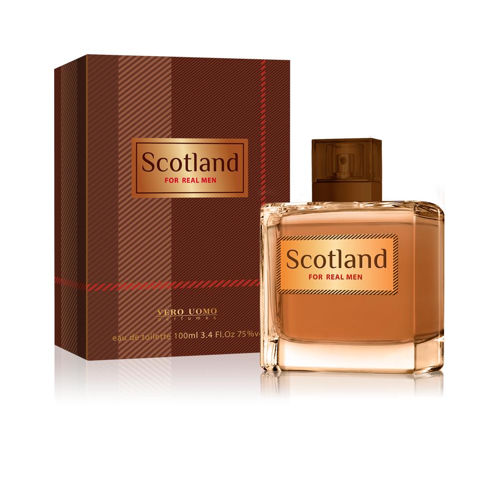 Vero Uomo Scotland, туалетная вода 100 мл2001011567Аромат Scotland вдохновлен традициями шотладского стиля, богатством культуры и исключительной красотой природы этой самобытной страны.Традиционный и мужественный, этот аромат наполняет силой, независимостью и глубокой харизмой, оставляя неизгладимое впечатлениеКраткий гид по парфюмерии: виды, ноты, ароматы, советы по выбору. Статья OZON Гид