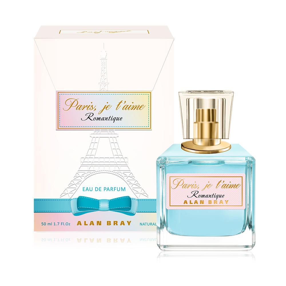 Alan Bray,Paris, je t`aime Romantique,парфюмированная вода 50 мл парфюмерная вода alan bray высший свет eclat d'etoile 50 мл
