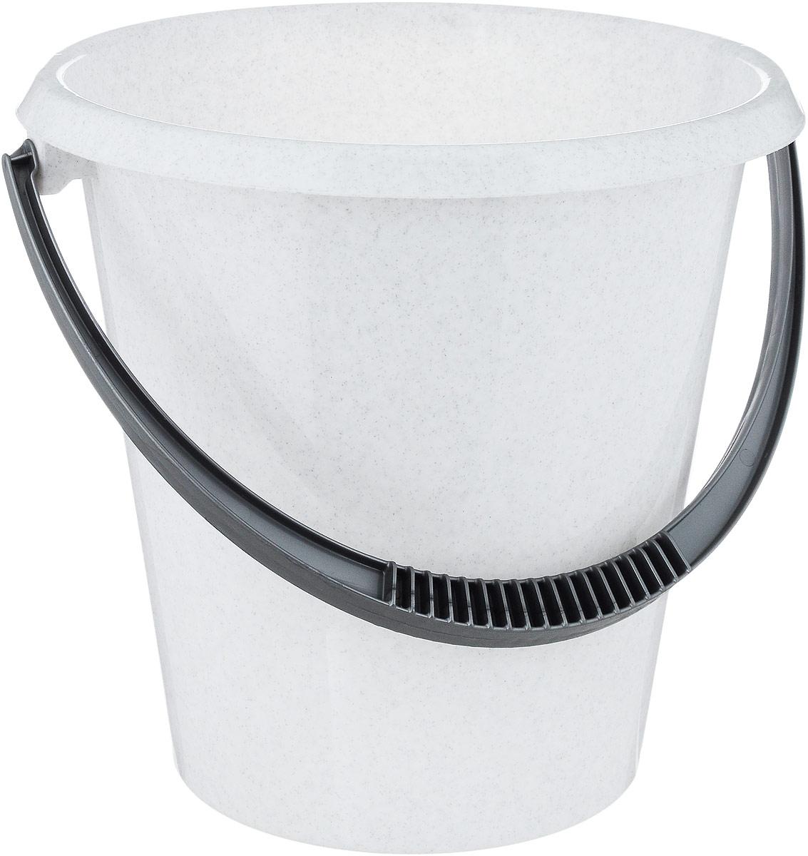 Ведро хозяйственное Idea, цвет: мраморный, 7 лМ 2407Ведро Idea изготовлено из высококачественного прочного пластика. Оно легче железного и не подвержено коррозии. Ведро оснащено удобной пластиковой ручкой. Такое ведро станет незаменимым помощником в хозяйстве.Диаметр (по-верхнему краю): 25,5 см.Высота: 25,5 см.