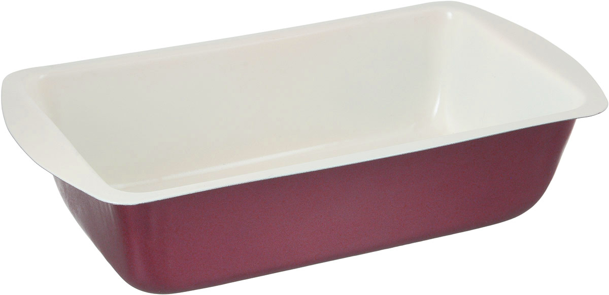 Форма для выпечки хлеба Termico EcoCeramo, с керамическим покрытием, 28 х 15 см220413Форма для выпечки хлеба Termico EcoCeramo изготовлена из высококачественной углеродистой стали с керамическим покрытием, благодаря чему хлеб не пригорает и не прилипает к стенкам посуды. Кроме того, готовить можно с добавлением минимального количества масла и жиров. Керамическое покрытие также обеспечивает легкость мытья. Стальные стенки посуды быстро распределяют тепло, благодаря чему хлеб выпекается равномерно. Для чистки нельзя использовать абразивные чистящие средства и жесткие губки. Размер формы по-верхнему краю: 28 х 15 см. Высота стенки формы: 7 см.