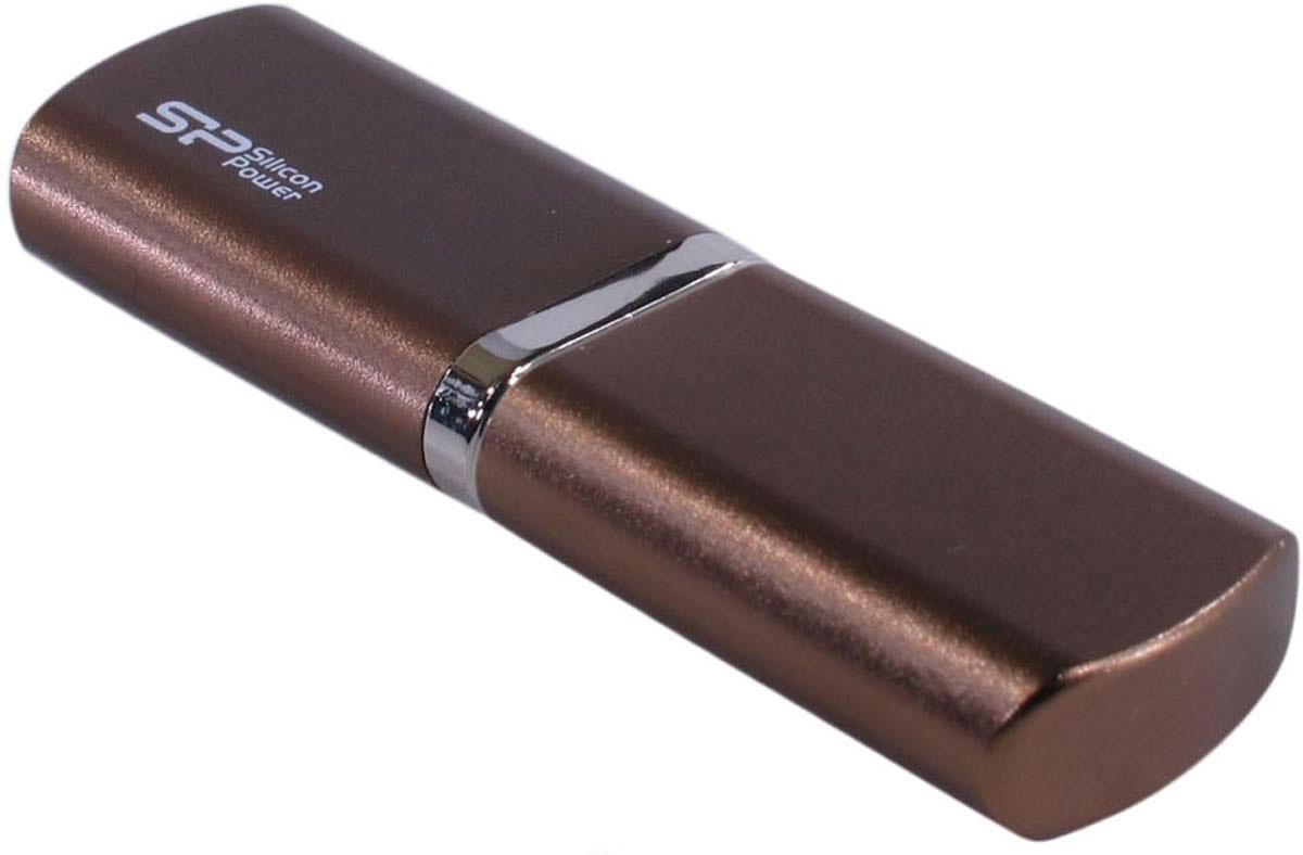 Silicon Power Luxmini 720 64GB, Bronze (SP064GBUF2720V1Z) - Носители информации