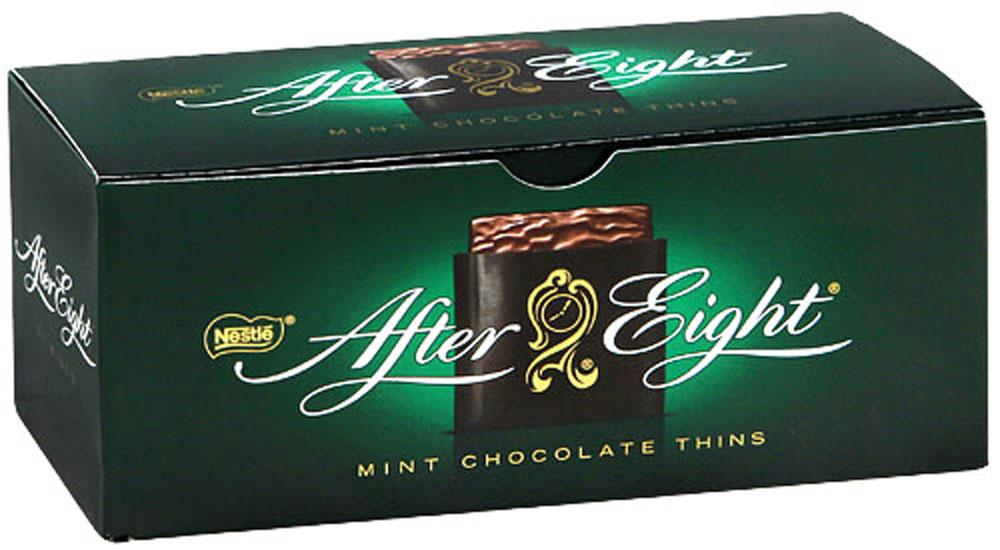After Eight шоколадные конфеты со вкусом мяты, 200 г черноголовская вкусная артезианская минеральная вода газированная 6 шт по 1 5 л