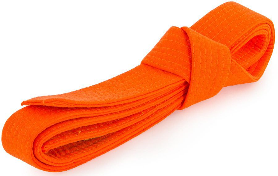 Пояс для кимоно Jabb, цвет: оранжевый. JE-2783_339686. Размер 4 см х 260 смJE-2783_339686Пояс Jabb - универсальный пояс для кимоно. Пояс выполнен из плотного хлопкового материала с многорядной прострочкой.
