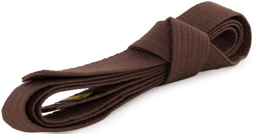 Пояс для кимоно Jabb, цвет: коричневый. JE-2783_339690. Размер 4 см х 300 смJE-2783_339690Пояс Jabb - универсальный пояс для кимоно. Пояс выполнен из плотного хлопкового материала с многорядной прострочкой.