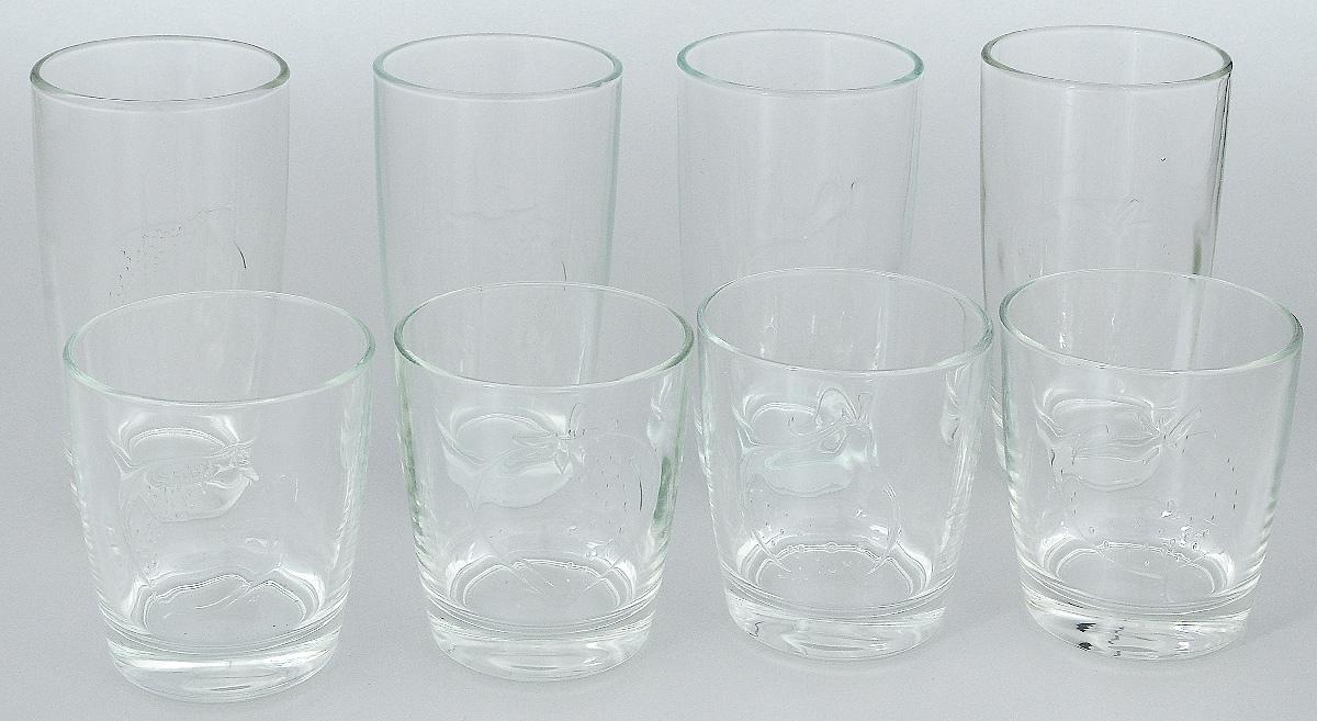 Набор стаканов Luminarc Фрути энерджи, 8 шт набор высоких стаканов luminarc new america