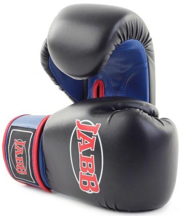 Перчатки боксерские Jabb JE-2015, цвет: черный, синий, 6 oz gh 707 2015