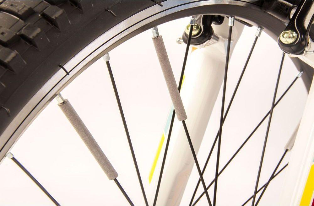 Светоотражатели на спицы Salzmann Цилиндры, 36 шт. 43036336033Материал: ABS – пластикВ комплекте: 10 штОтражающий материал: 3M ScotchliteОтражающий значение: 600 lux