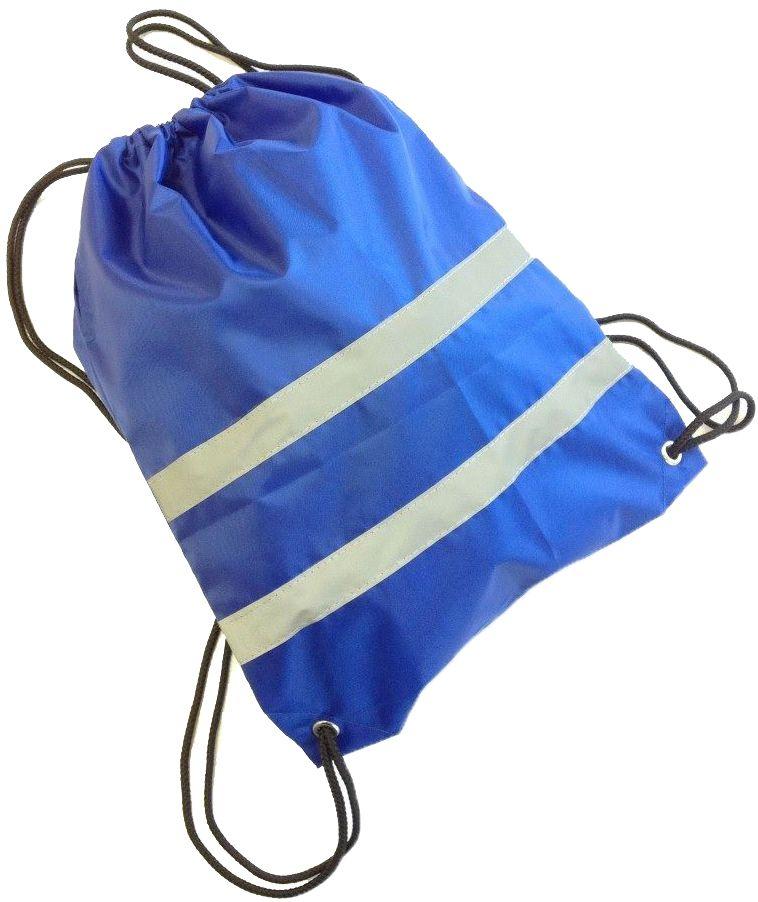 Мешок сигнальный для обуви, цвет: васильковый, 32 х 42 см. 333-203339556Сигнальный мешок для обуви выполнен из текстиля. Поперек него проходят две полосы со светоотражающими полосами, поэтому рюкзак будет хорошо заметен даже в темноте.Лямки выполнены в виде веревок, которые служат и завязками. Они затягивают горловину мешка и надежно сохраняют содержимое.Размеры: 32 х 42 см.
