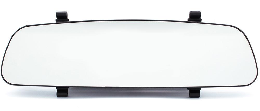 TrendVision MR-700GP, Black видеорегистраторMR-700GPАвтомобильный видеорегистратор TrendVision MR-700GP выполнен в виде накладки на штатное зеркало заднего вида. Такая конструкция все больше пользуется популярностью у автовладельцев. Её особенность - незаметность установки.В данной модели используется мощный процессор, чувствительный сенсор и светосильный объектив. Максимальное разрешение записи 1920 х 1080 (30 кадров в секунду). Широкий динамический диапазон HDR позволяет получить очень качественное видеоизображение даже в условиях высококонтрастных сцен или при недостаточной освещенности. Съемный поляризационный фильтр устраняет блики от лобового стекла.Полностью новый корпус разработан специалистами TrendVision и не имеет аналогов. Особенности: толщина всего 14 мм, увеличенная жесткость, противоослепляющее зеркальное покрытие, удобное крепление, большой монитор 4.3, два слота для карт памяти, подключение дополнительной аналоговой камеры заднего хода, удобные кнопки с автоматически отключаемой подсветкой. При выключенном мониторе (автоматическая настройка) регистратор похож на обычную панорамную накладку.Выносной GPS-приёмник позволяет записывать координаты, скорость и маршрут движения автомобиля.Кроме обязательных для видеорегистратора функций как автоматическое включение и выключение, циклическая запись, MR-700GP имеет множество дополнительных:Раздельные настройки разрешения и экспозиции для дневного и ночного времениСохранение ролика от стирания нажатием на кнопку или по G-сенсоруДатчик движенияБыстрое отключение записи звука нажатием на кнопку.Копирование роликов с карты на карту - копия для протокола.Цифровое увеличение при воспроизведении позволяет рассмотреть мелкие детали на экране монитораАвтоматическое отключение монитора и подсветки кнопокНаложение на видео штампа даты, времени, координат, скорости движения, и госномера автомобиляФормат записи видео: MOVПроцессор: Ambarella A7LA30Оперативная память: 2 ГБNAND память: 128 МБАккумулятор: 300 мАч