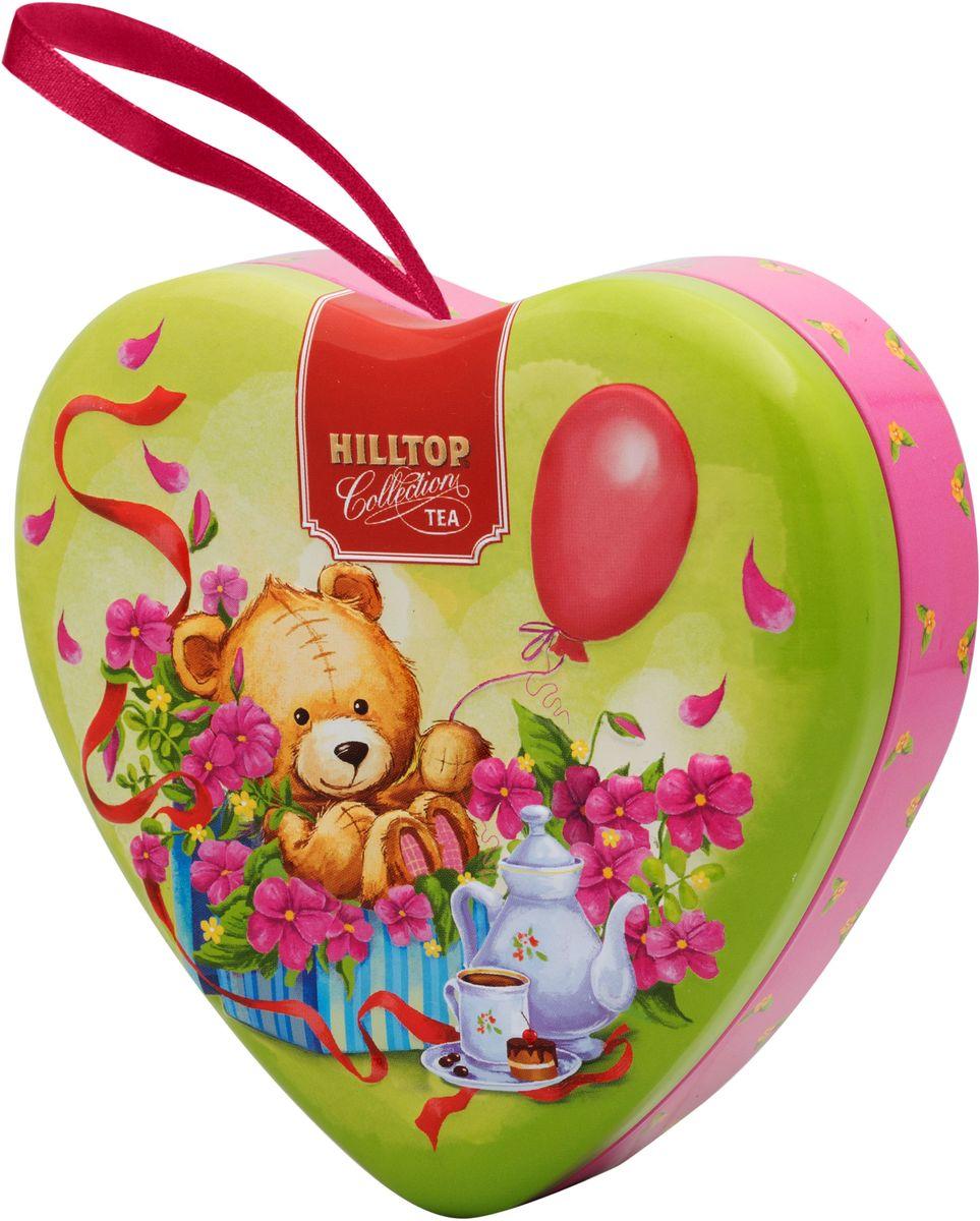 Hilltop Люблю! листовой чай Молочный оолонг, 50 г hilltop цветочная корзинка чай молочный оолонг листовой в футляре 80 г