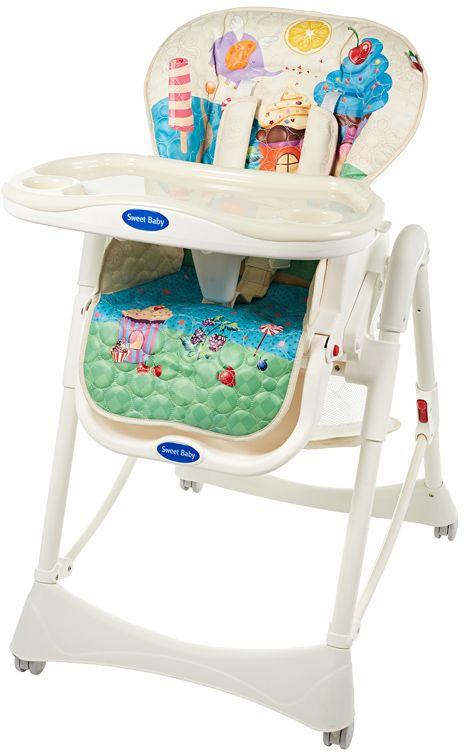 Sweet Baby Стульчик для кормления Candy Land Oval цена 2017
