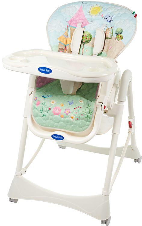 Sweet Baby Стульчик для кормления Happy Land Oval