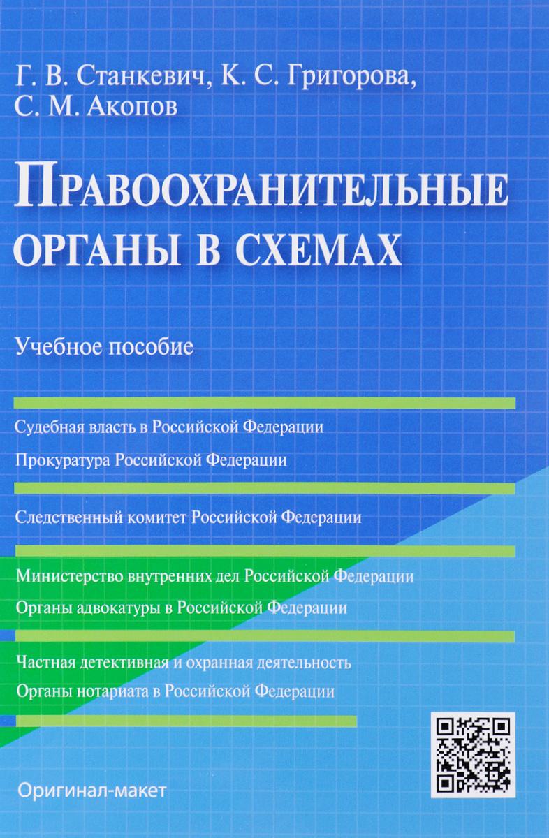 Правоохранительные органы в схемах