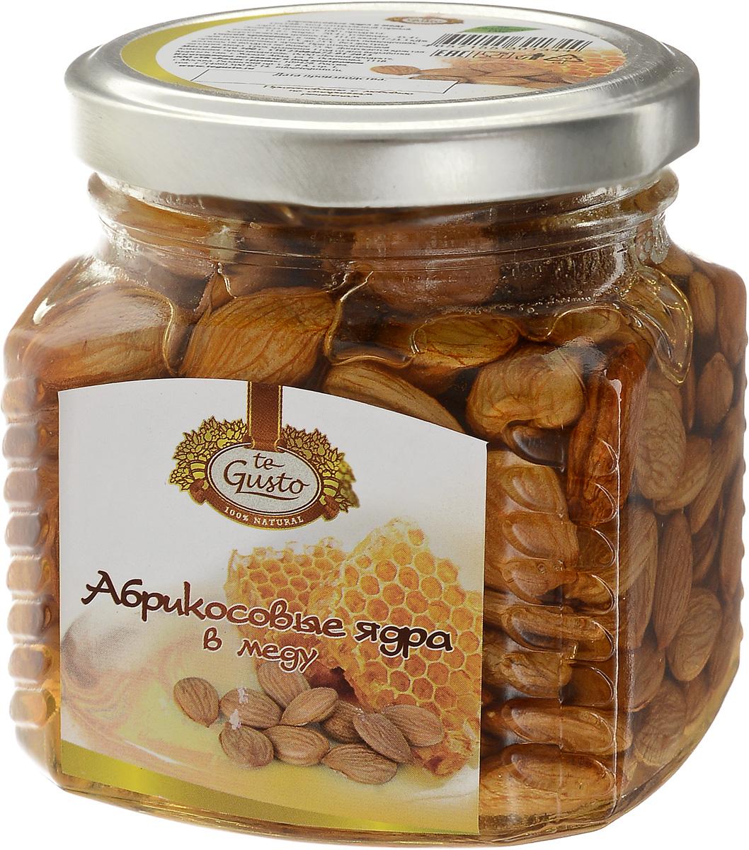 te Gusto Абрикосовые ядра в меду, 300 г te gusto грецкие орехи в меду 300 г