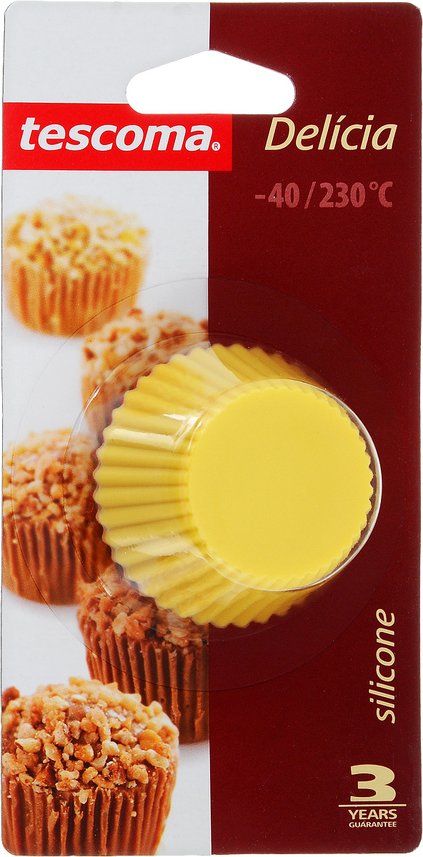 Набор форм для выпечки Tescoma Delicia, диаметр 5см, 6шт630644Формы для выпечки Tescoma Delicia, изготовленные из термостойкого силикона, выдерживают температуру от -40 до +230°C. В комплекте 6 форм. Если вы любите побаловать своих домашних вкусным и ароматным угощением по вашему оригинальному рецепту, то формы Tescoma Delicia как раз то, что вам нужно!Подходят для всех видов печей, включая микроволновую печь, пригодны для холодильника, морозильной камеры и посудомоечной машины. Диаметр формы: 5 см.Высота формы: 2,5 см.