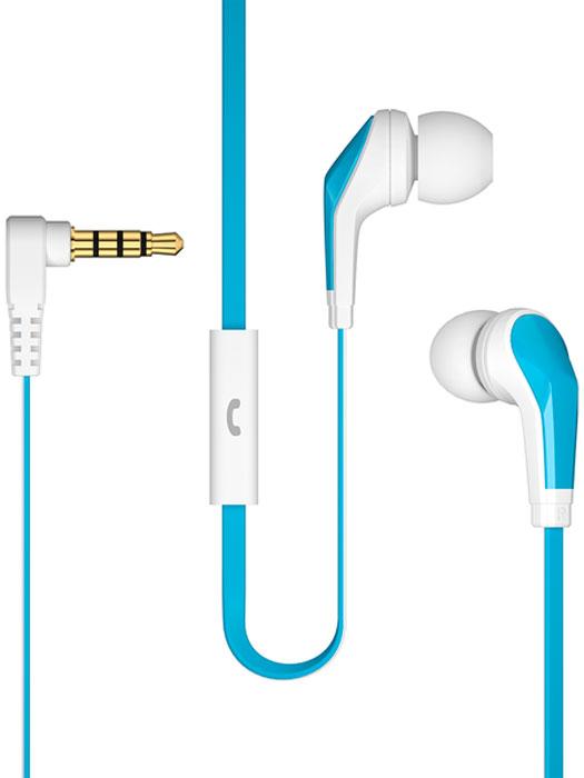 Deppa Stereo Edge, White Light Blue гарнитура44145Проводные внутриканальные наушники (вкладыши) Deppa Stereo Edge без проблем работают со всеми современнымисмартфонами, а также ноутбуками, колонками, плеерами и радио. Управление музыкой осуществляется всегоодной кнопкой.Благодаря встроенному микрофону наушники Deppa Stereo Edge могут использоваться в качестве телефоннойгарнитуры. Вам даже не придется доставать смартфон из кармана, чтобы ответить на звонок - это позволитсделать многофункциональная кнопка.Воспроизведение звука в диапазоне частот от 20 Гц до 20 кГц гарантирует отличное качество звучаниямузыки любой направленности и тембра. Для удобства использования в комплекте поставляется силиконовыеамбушюры трех разных размеров.