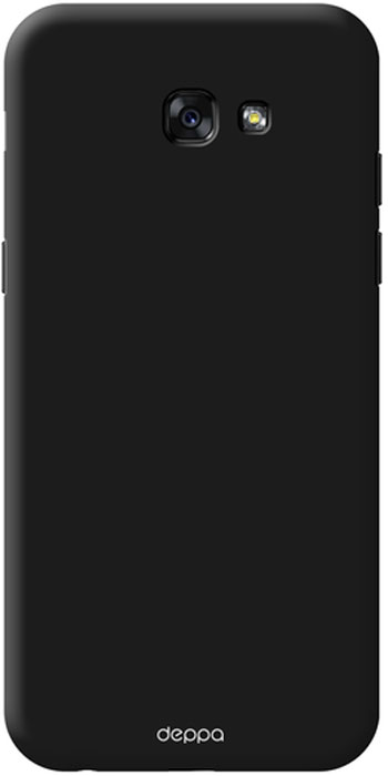 Deppa Air Case чехол для Samsung Galaxy A7 (2017), Black83289Чехол Deppa Air Case для Samsung Galaxy A7 (2017) - случай редкого сочетания яркости и чувства меры. Это стильная и элегантная деталь вашего образа, которая всегда обращает на себя внимание среди множества вещей. Благодаря покрытию soft touch чехол невероятно приятен на ощупь, поэтому смартфон не хочется выпускать из рук. Ультратонкий чехол (толщиной 1 мм) повторяет контуры самого девайса, при этом готов принимать на себя удары - последствия непрерывного ритма городской жизни.