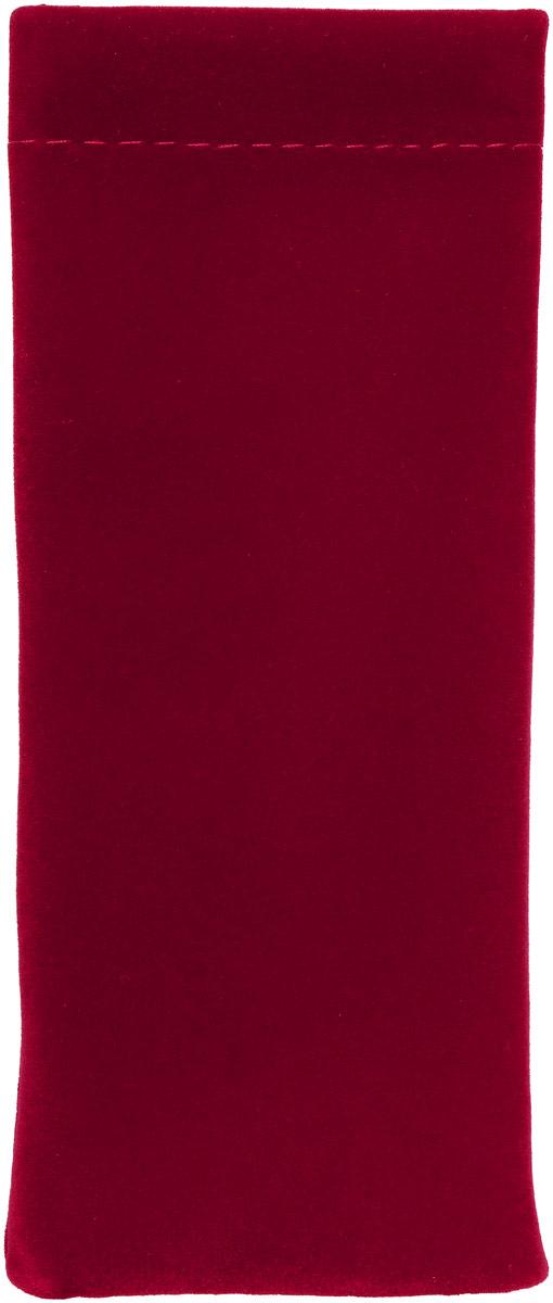 Proffi Home Футляр для очков Fabia Monti текстильный, мягкий, узкий, цвет: бордовый часы настенные proffi home корица