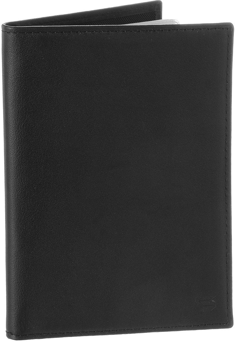 Обложка для автодокументов Soltan, цвет: черный. 037 01 01Натуральная кожаОбложка для автодокументов Soltan выполнена из натуральной кожи.Изделие раскладывается пополам. Обложка содержит съемный блок из шести прозрачных файлов из мягкого пластика, один из которых формата А5, два боковых кармана и четыре прорезных кармана для пластиковых карт.Изделие упаковано в фирменную коробку.Модная обложка для автодокументов поможет сохранить их внешний вид и защитить от повреждений.
