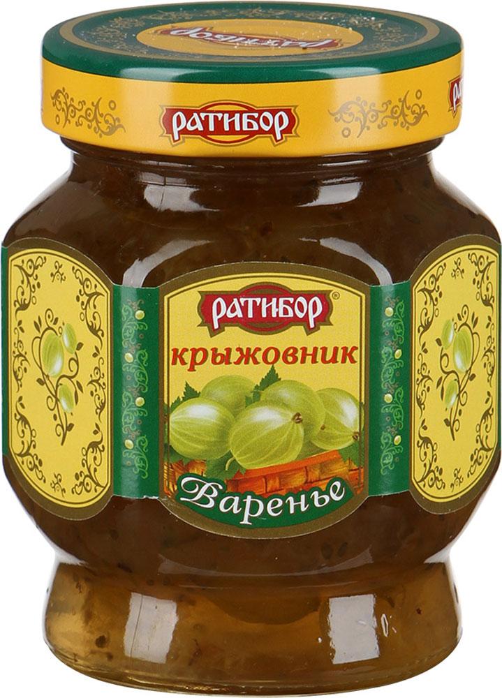 Ратибор варенье Крыжовник, 400 г алена долецкая варенье рецепты