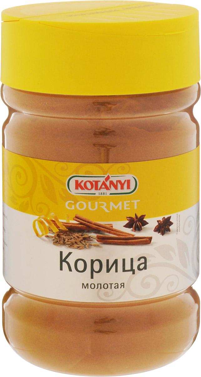 Kotanyi Корица молотая, 600 г249211Корица имеет пряный, сладковатый вкус и интенсивный аромат. Она прекрасно сочетается с гвоздикой, ванилью, а также с кайенским перцем, кориандром и мускатным орехом. Корицу добавляют во все виды сладких блюд и выпечки, печеные фрукты и горячие напитки. Она является неотъемлемым ингредиентом большинства блюд азиатской, восточной и арабской кухни.Приправы для 7 видов блюд: от мяса до десерта. Статья OZON Гид