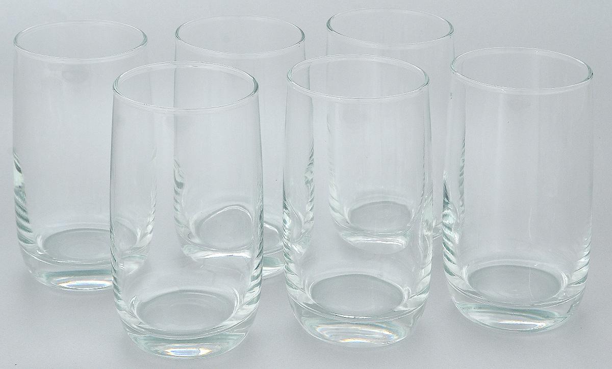 Набор стаканов Luminarc Vigne, 330 мл, 6 штC5107Набор Luminarc Vigne состоит из 6 высоких стаканов, выполненных из высококачественного стекла. Изделия подходят для сока, воды, лимонада и других напитков. Такой набор станет прекрасным дополнением сервировки стола, подойдет для ежедневного использования и для торжественных случаев. Можно мыть в посудомоечной машине.Объем стакана: 330 мл.Диаметр стакана: 6,2 см.Высота стакана: 12,5 см.