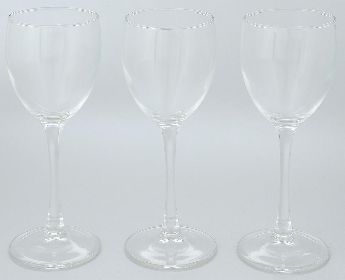 Набор бокалов Luminarc Signature, 190 мл, 3 шт набор бокалов для коньяка luminarc signature 2 предмета