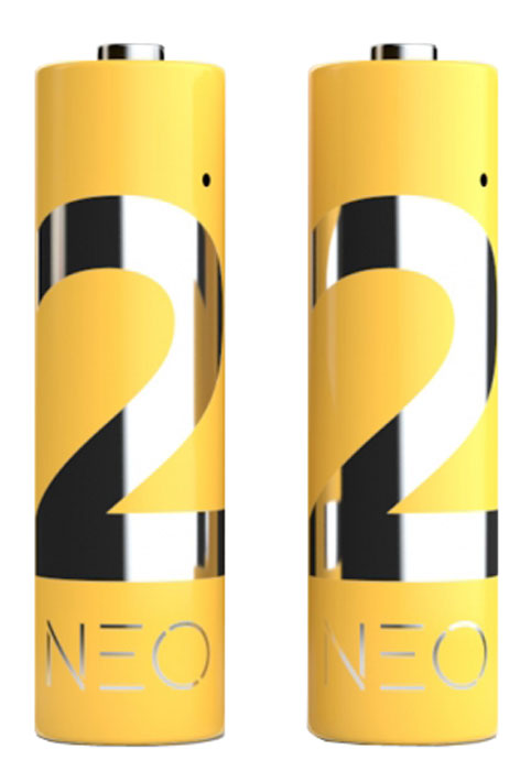 Rombica Neo X2 внешний аккумулятор, 2 штPLB-LR60Rombica Neo X2 - комплект из 2 перезаряжаемых литий-полимерных аккумуляторов типоразмера AA. Стабильное выходное напряжение 1,5 B во время всего цикла разряда. Быстрая зарядка без эффекта памяти, без использования специализированного зарядного устройства. Зарядка возможна от любого USB-порта (ПК, универсальные зарядные устройства, портативные аккумуляторы).