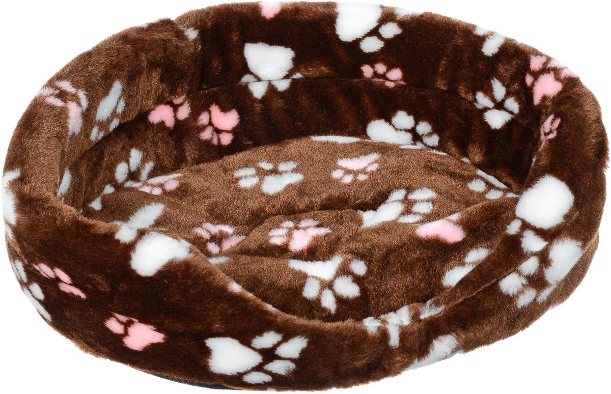 Лежак для животных Elite Valley, цвет: коричневый, белый, розовый, 43,5 х 30 х 15 смЛ-2/2_коричневый, лапки розовые и белыеЛежак Elite Valley обязательно понравится вашемупитомцу. Изделие выполнено из искусственного меха, анаполнитель - из поролона. Такой материал не теряетсвоей формы долгое время. Внутри имеется мягкаясъемная подстилка. Высокие борта обеспечат вашему любимцу уют, емусразу же захочется забраться на лежак, там он сможетотдохнуть и подремать в свое удовольствие.Мягкий лежак станет излюбленным местом вашегопитомца, подарит ему спокойный и комфортный сон, атакже убережет вашу мебель от многочисленной шерсти.