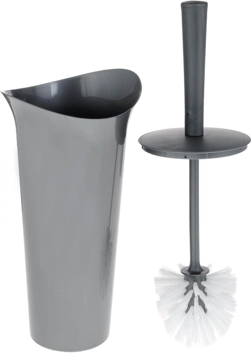 """Ершик для унитаза Idea """"Лотос"""" выполнен из пластика с  жестким ворсом. Он хранится в специальной подставке, а также  оснащен крышкой, которая плотно прилегает к подставке. Ерш  отлично чистит поверхность, а грязь с него легко смывается  водой. Стильный дизайн изделия притягивает взгляд и прекрасно  подойдет к интерьеру туалетной комнаты. Длина ершика (с ручкой): 36 см.  Размер рабочей части ершика: 7 х 7 х 8 см. Размер подставки: 12,5 х 15 х 27 см."""