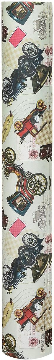 """Упаковочная бумага Даринчи """"№ 11"""" оформлена  полноцветным декоративным рисунком. Подарок,  преподнесенный в оригинальной упаковке, всегда будет  самым эффектным и запоминающимся.   Окружите близких людей вниманием и заботой, вручив  презент в нарядном, праздничном оформлении. Размер листа: 48 х 59 см."""