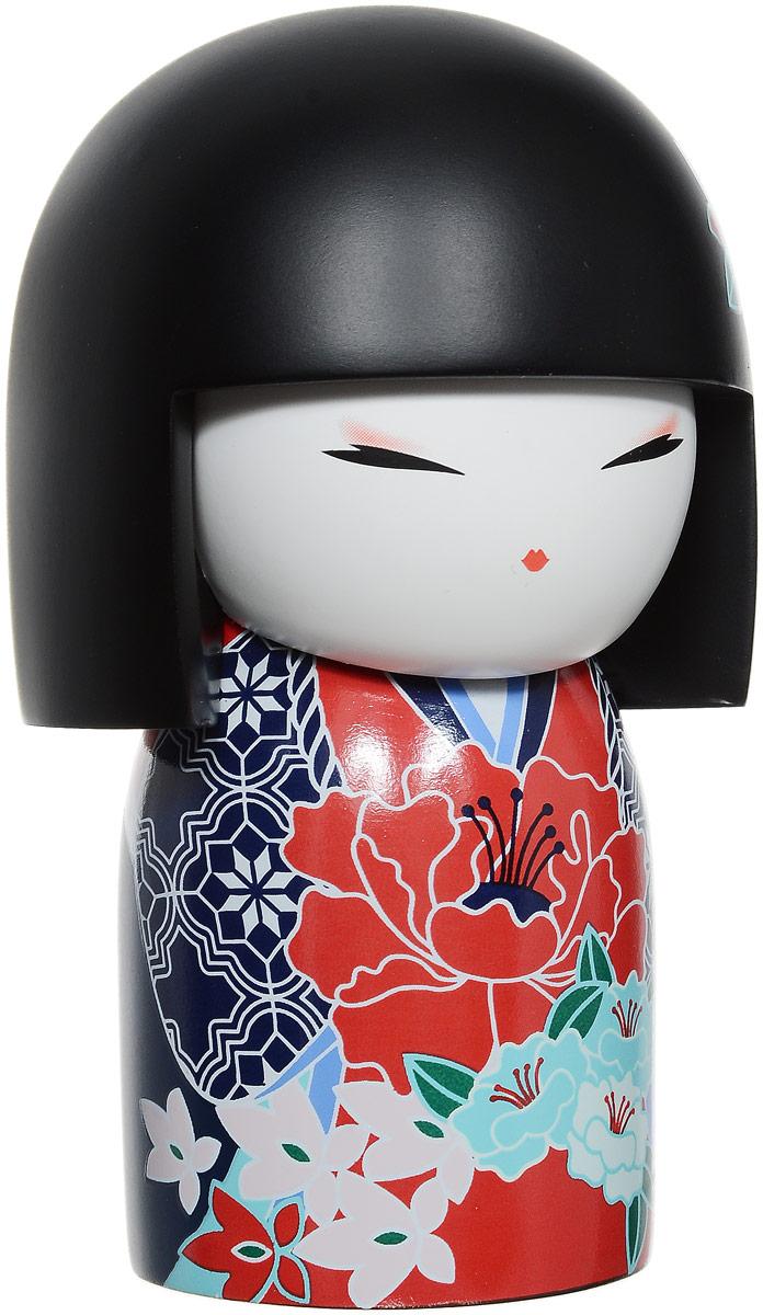 Привет, меня зовут Йошими! Я талисман уважения! Проявляя вежливость и оказывая внимание, которое вы  бы сами хотели получить, вы чтите мой дух. Даже в самых сложных обстоятельствах ваше  уважительное поведение показывает истинную силу  вашего характера.  Кукла-талисман выполнена из искусственного камня  (полирезин).  Это традиционная японская кукла- Кокеши! (японская  матрешка). Дарится в знак дружбы, симпатии, любви или  по поводу какого-либо приятного события! Считается, что  это не только приятный сувенир, но и талисман, который  приносит удачу в делах, благополучие в доме и  гармонию в душе!