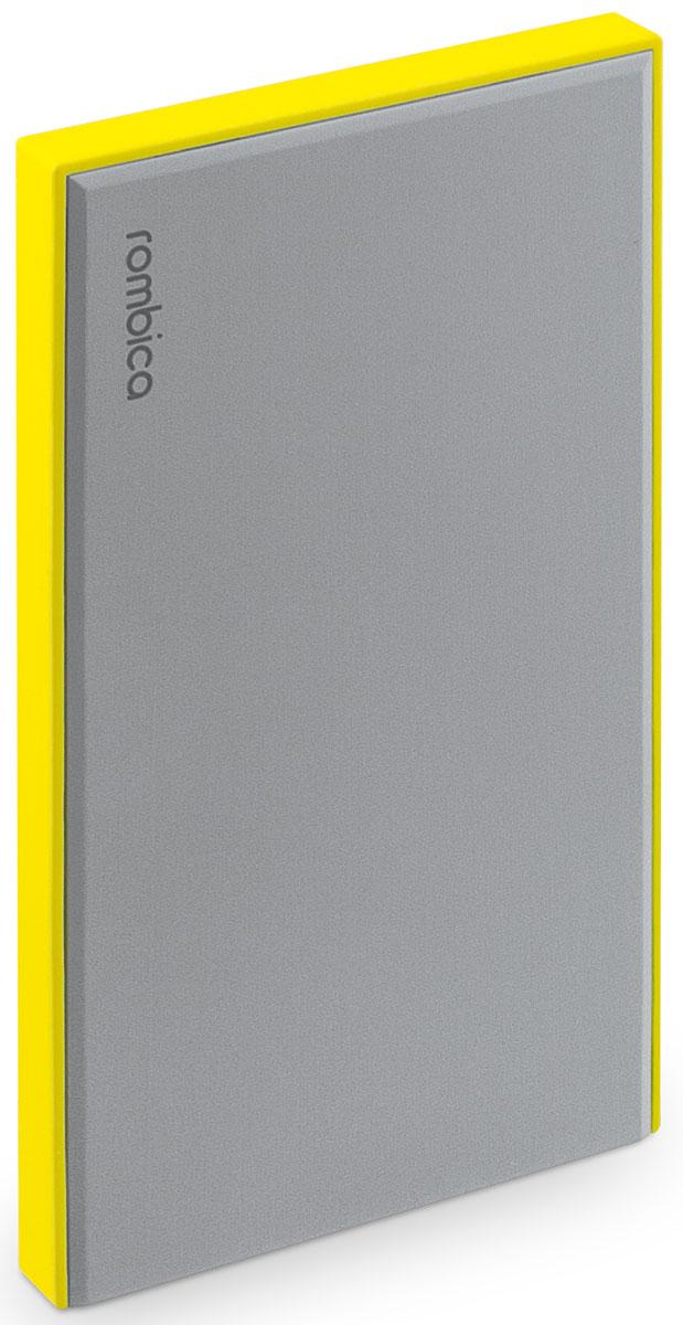 Rombica Neo NS50Y внешний аккумуляторNS-00050YВнешний аккумулятор Rombica Neo NS50 заряжает большинство мобильных устройств: смартфоны, планшеты, плееры, цифровые камеры и многое другое. Легкий и компактный источник энергии у вас в кармане! Оборудован батареей большой емкости, что позволяет в условиях отдаленности от электрических сетей, продлить использование мобильных устройств. Множественная система защиты для безопасной зарядки устройств. В комплект входит войлочный чехол, который позволяет переносить и хранить внешний аккумулятор.