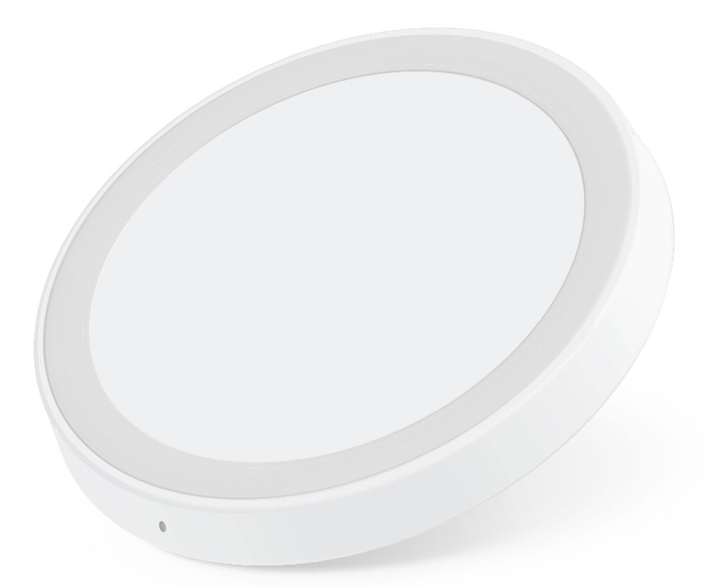 Rombica Neo Q1 беспроводное зарядное устройствоNQ-00010Беспроводное зарядное устройство Rombica Neo Q1 полностью соответствует спецификации Qi, что гарантирует вам стабильную и безопасную зарядку смартфонов, поддерживающих эту технологию (Qi). Оригинальное и стильное устройство выполнено в корпусе из качественного пластика с резиновой вставкой для лучшего удержания устройства. Рабочая дистанция беспроводной зарядки до 5 мм.