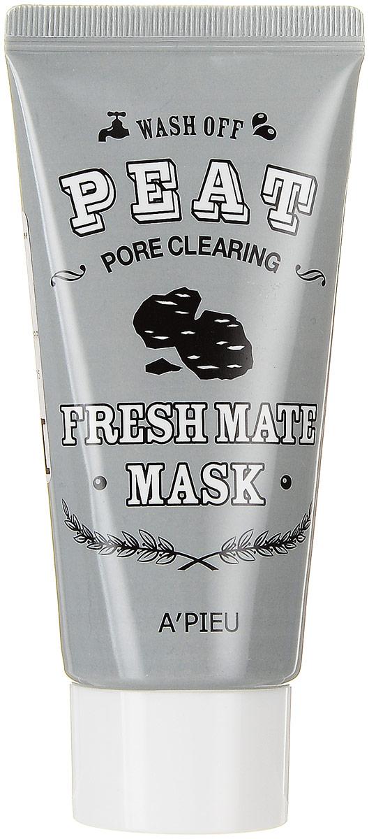 APieu Fresh Mate Очищающая и сужающая поры маска с вулканическим пеплом, 50 млУТ-00000217Очищающая и сужающая поры маска с вулканическим пеплом, прекрасно освежает кожу, питает минералами, увлажняет и придает мягкость, удаляет излишки жира и при регулярном использовании оздоравливает и ускоряет регенерацию кожи. Марокканская глина Гассул прекрасно очищает, повышает эластичность и упругость. Выравнивает поверхность кожи, удаляя отмершие клетки.