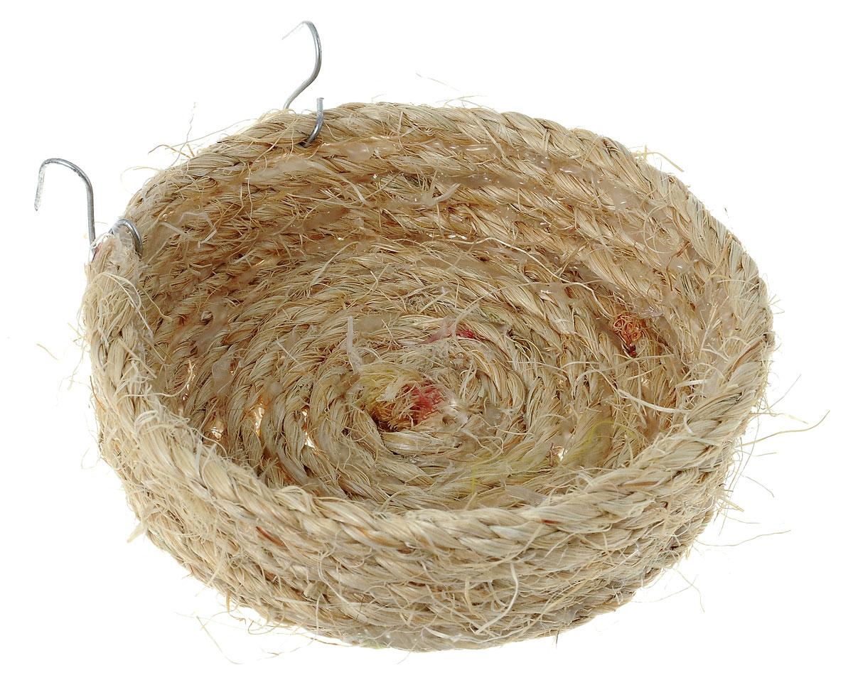 Гнездо для птиц Zoobaloo Гнездо плоское, диаметр 11 смZoobaloo Гнездо плоское - это великолепный аксессуар, который предназначен для птиц. Благодаря полностью натуральному плетению изделие выгодно отличается от гнезд из пластика. Гнездо оснащено металлическими креплениями, поэтому может быть установлено на горизонтальных стенках клетки.Диаметр гнезда: 11 см.Высота стенки гнезда: 3 см.