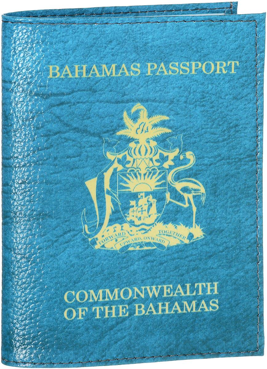 Обложка на паспорт Эврика Багамы, цвет: голубой, желтый. 9419594195Обложка для паспорта от Эврика- оригинальный и стильный аксессуар, который придется по душе истинным модникам и поклонникам интересного и необычного дизайна.Качественная обложка выполнена из натуральной кожи. Рисунок нанесён специальным образом и защищён от стирания. Изделие раскладывается пополам. Внутри размещены два накладных кармашка из прозрачного ПВХ. Простая, но в то же время стильная обложка для паспорта определенно выделит своего обладателя из толпы и непременно поднимет настроение. А яркий современный дизайн, который является основной фишкой данной модели, будет радовать глаз.