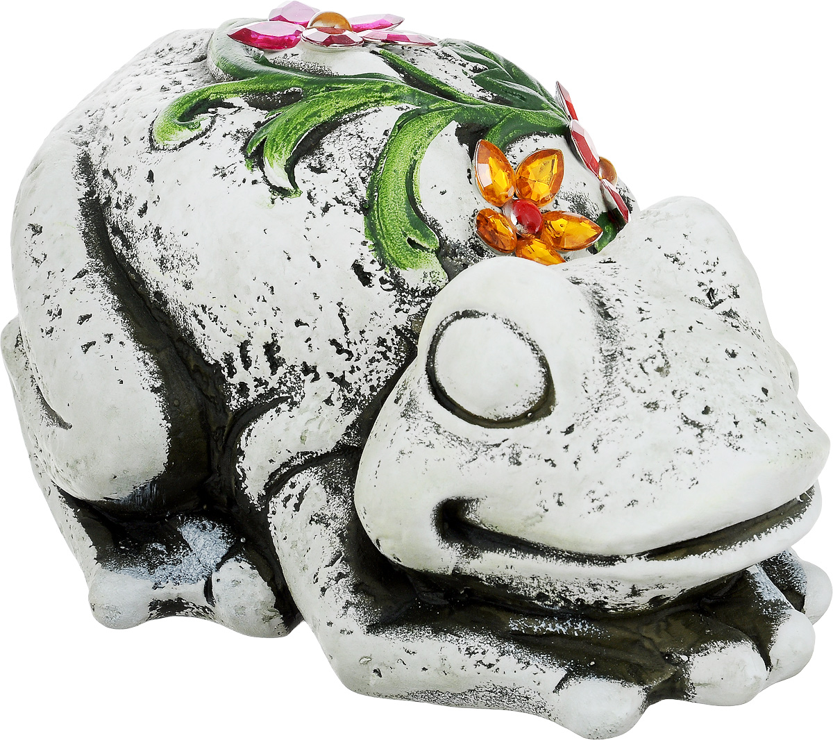 Фигурка декоративная Лилло Лягушка, цвет: серый, зеленый, красный, длина 21 смFLY3204-2Декоративная фигурка Лягушка станет необычным аксессуаром для вашего интерьера и создаст незабываемую атмосферу. Фигурка изготовлена из керамики в виде лягушки. Эта очаровательная вещь послужит отличным подарком близкому человеку, родственнику или другу, а также подарит приятные мгновения и окунет вас в лучшие воспоминания.