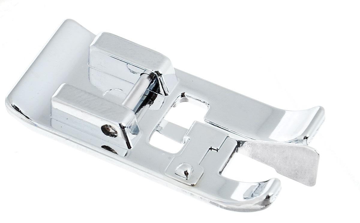 Лапка для обметывания Aurora, оверлочнаяAU-109Лапка Aurora предназначена для обработки края с направляющей пластиной и иглой, предохраняющей край тонкой ткани от стягивания. Изделие изготовлено из прочного металла. Подходит для большинства современных бытовых швейных машин.