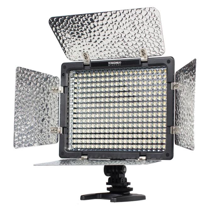 YongNuo LED YN-300 осветитель светодиодный для фото и видеокамер с ду - Фотоаксессуары