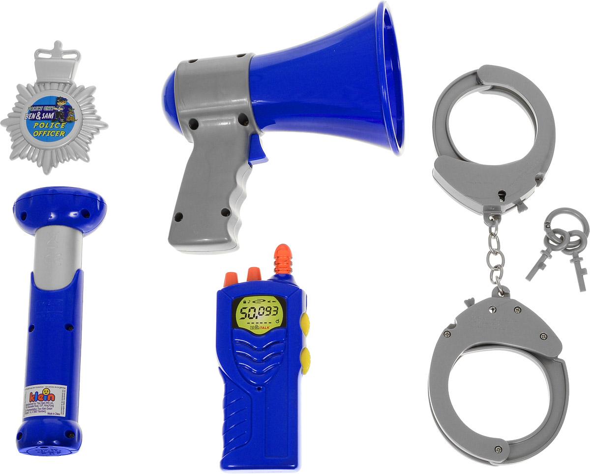 klein klein набор полицейского в кейсе Klein Игрушечный набор полицейского