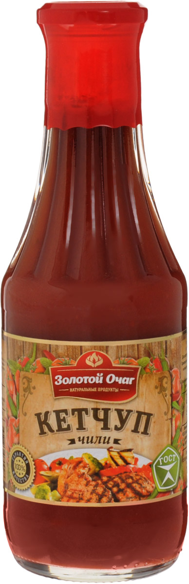 цены  Золотой Очаг кетчуп чили , 540 г