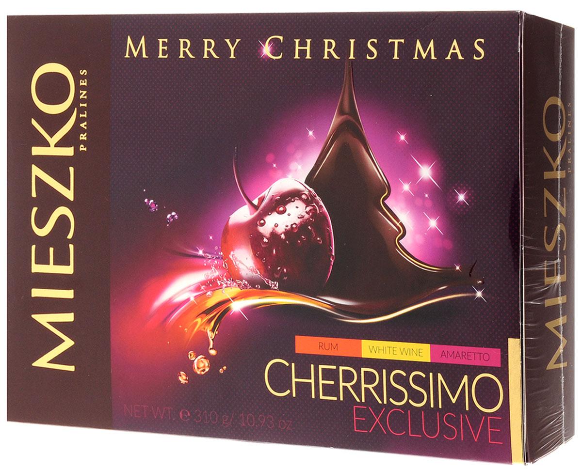 Mieszko Черрисимо Эксклюзив набор шоколадных конфет, 310 г12406Как вы думаете, что произойдет, когда сочная вишня встречает нежный, миндальный амаретто, сухое вино или согревающий ром? Ответ на этот вопрос, вы будете приятно удивлены. Результатом является абсолютно уникальный вкус, в котором вкус вишни обогащается отдельной каплей нескольких популярных видов алкогольных напитков. Кроме того, очень вкусный шоколад, который оставит вас и ваших близких в хорошем настроении. Если вы готовы к взрыву вишневой энергии, побаловать себя этим лакомством для души. Это интригующее предложение, говорящее о том, что вы обязаны вернуться через какое-то время.Уважаемые клиенты! Обращаем ваше внимание, что полный перечень состава продукта представлен на дополнительном изображении.