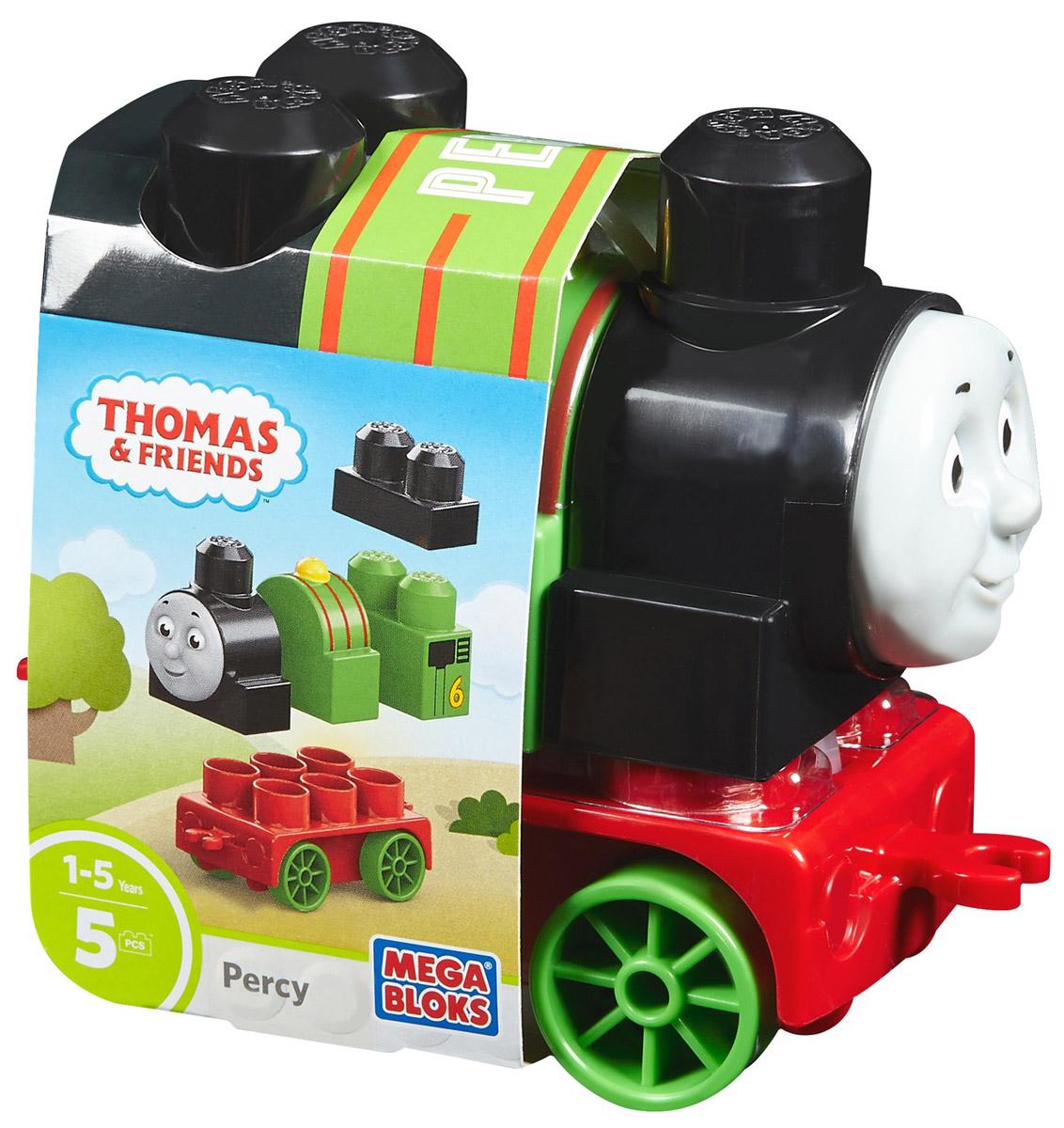 Mega Bloks Thomas & Friends Конструктор Паровозик Перси DXH49 dxh 207
