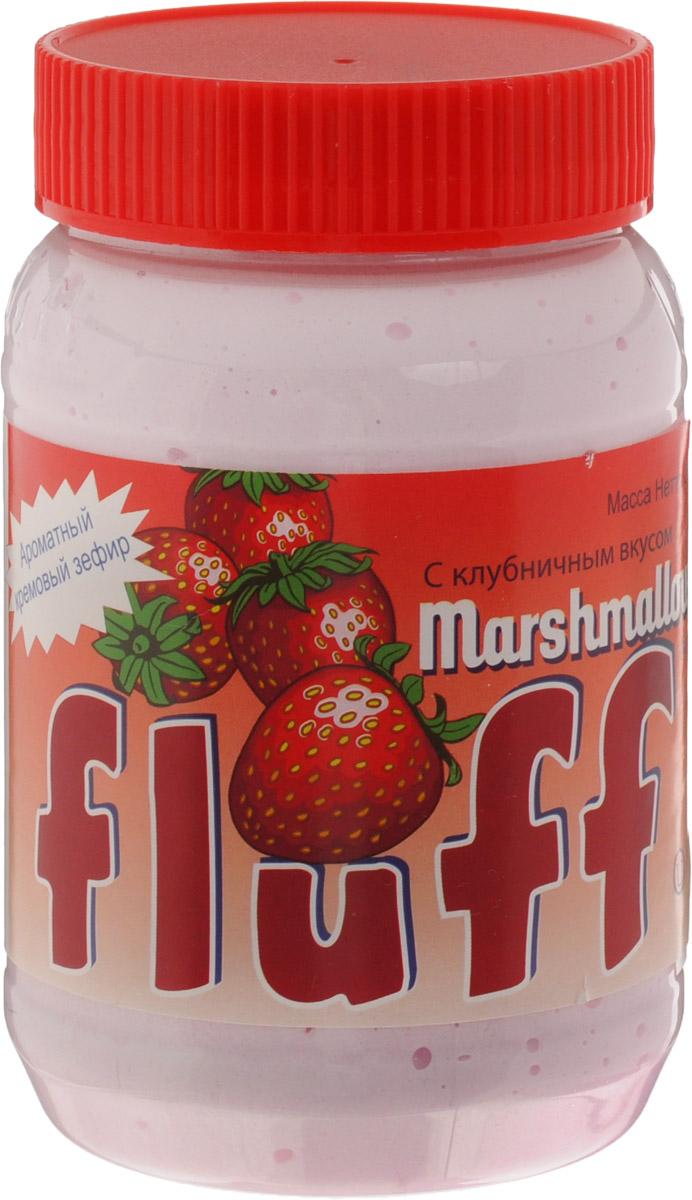 Fluff зефир кремовый Marshmallow с клубничным вкусом, 213 г воздушный зефир зефирюшки для десертов 125 г
